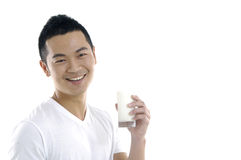 Asian young man Stock Image