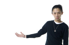 Asian young man Royalty Free Stock Photo