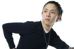 Asian young man Stock Image