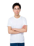 Asian young man Royalty Free Stock Image