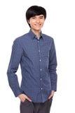 Asian young man portrait Stock Photos