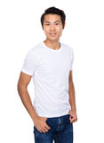 Asian young man portrait Royalty Free Stock Images