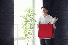 Asian young man student. With books in hands Stock Image