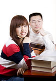 Asian young people stock photos