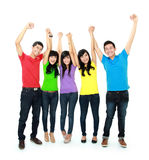 Asian young people Royalty Free Stock Photography