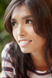 Asian young smile b Stock Photography