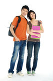 Asian  young students Stock Photography