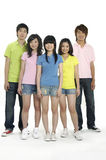 Asian Young students Royalty Free Stock Photo