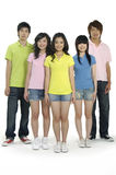 Asian Young students Royalty Free Stock Photography
