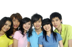 Asian Young students Stock Photos