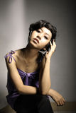 Asian young woman Stock Photo
