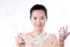 Asian young woman Royalty Free Stock Image