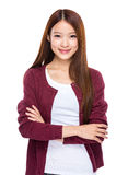 Asian young woman royalty free stock photography