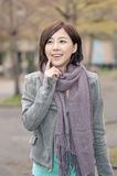 Asian young woman portrait Stock Images