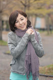 Asian young woman portrait Royalty Free Stock Images