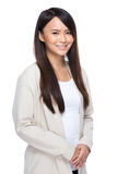 Asian young woman portrait Royalty Free Stock Photo