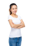 Asian young woman portrait Royalty Free Stock Photos