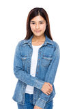Asian young woman portrait Royalty Free Stock Image