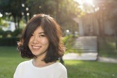 Asian young woman Royalty Free Stock Photos