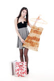 Asian young women shopping Stock Photography