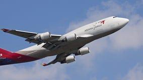 Asiana货物航空器 免版税库存照片