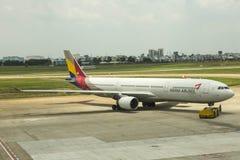 Asiana Airlines Corée Photos stock