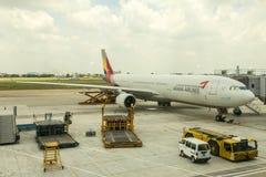 Asiana Airlines Corée Photo libre de droits