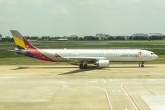 Asiana Airlines Corée Image libre de droits
