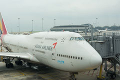 Asiana Airlines of South Korea royalty free stock image