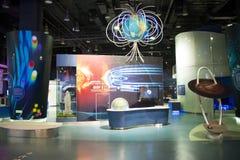 Asiat China, Peking, chinesische Wissenschaft und Technik Museumï-¼ ŒIndoor-Ausstellungshalle, Wissenschaft und Technik, Stockbild