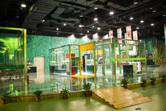 Asiat China, Peking, chinesische Wissenschaft und Technik Museumï-¼ ŒIndoor-Ausstellungshalle, Wissenschaft und Technik, Lizenzfreie Stockfotos