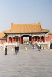 Asiat China, Peking, historische Gebäude, der Kaiserpalast Stockfotos