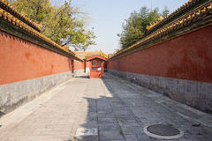 Asiat China, Peking, historische Gebäude, der Kaiserpalast Lizenzfreie Stockbilder