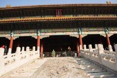 Asiat China, Peking, historische Gebäude, der Kaiserpalast Stockfotografie