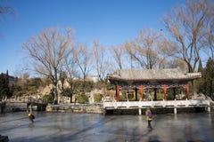 Asiat China, Peking, Ritan-Park Stockbilder