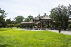 Asiat China, Peking, Tiantan, bizyklischer Wanshou-Pavillon Lizenzfreies Stockfoto