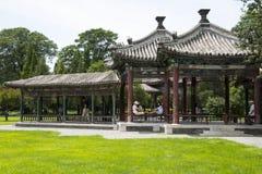 Asiat China, Peking, Tiantan, bizyklischer Wanshou-Pavillon Lizenzfreies Stockbild