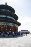 Asiat China, Peking, Tiantan-Park, die Halle des Gebets für gute Ernten Lizenzfreie Stockbilder
