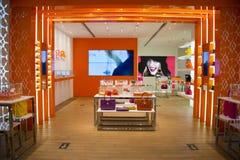 Asiat China, Peking, Wangfujing, APM-Einkaufszentrum, Innenarchitekturshop, Stockfotografie
