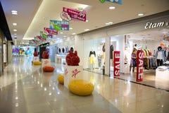 Asiat China, Peking, Wangfujing, APM-Einkaufszentrum, Innenarchitekturshop, Stockbild