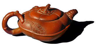 asiat dekorerad teapot Fotografering för Bildbyråer