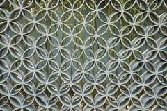Asiat Kina, antik arkitektonisk stil, traceryvägg Royaltyfri Bild