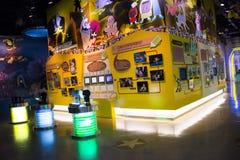 Asiat Kina, Peking, ŒIndoor för Kina nationell filmMuseumï ¼ mässhall, Arkivbild