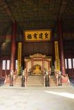 Asiat Kina, Peking, historiska byggnader, den imperialistiska slotten Arkivfoton