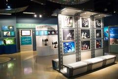 Asiat Kina, Peking, ŒIndoor för Kina nationell filmMuseumï ¼ mässhall, Royaltyfri Foto