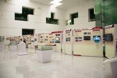 Asiat Kina, Peking, kinesisk ŒIndoor för vetenskap och teknikMuseumï ¼ mässhall, vetenskap och teknik, Royaltyfri Bild