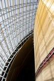 Asiat Kina, Peking, modern arkitektur, teatern för nationell tusen dollar Arkivbild