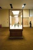 Asiat Kina, Peking, nationellt museum, iTheutställning, de västra regionerna, den siden- vägen Royaltyfri Fotografi