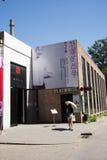 Asiat Kina, Peking, område för 798 konst, DADï ¼ Dashanzi Art District Fotografering för Bildbyråer