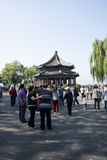 Asiat Kina, Peking, sommarslotten, Kuo Ru Ting Arkivbilder